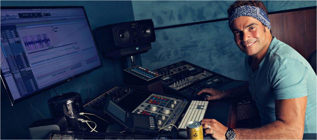 Amr Diab in Studio